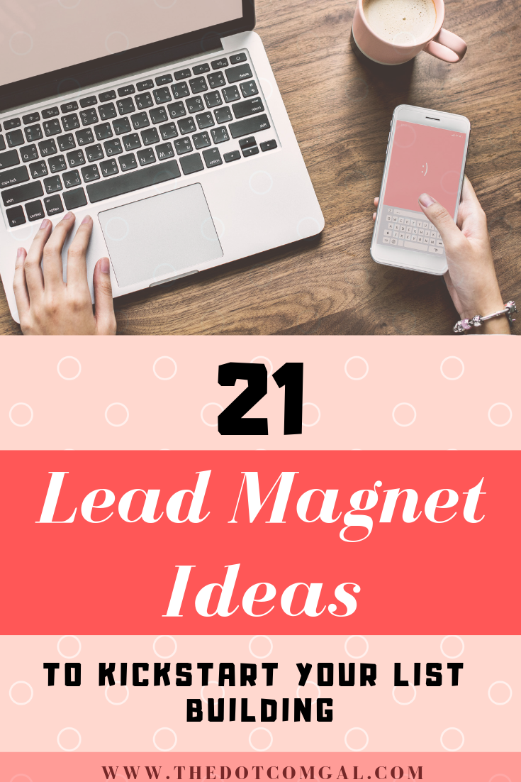 lead magnet ideas