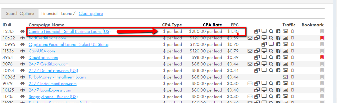 highest paying cpa offers